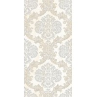 TES3747 Marvel Damasco Decor Perla 25x50