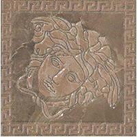 240387  MARBLE TOZZETTO MEDUSA MARRON LEV 14,4x14,4 14.4x14.4