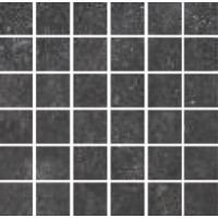 092065 BLUE EVOLUTION MOSAICO BLACK RETT 30X30