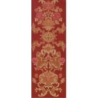 Stariy Arbat Decore Flower Red 25,3x70,6