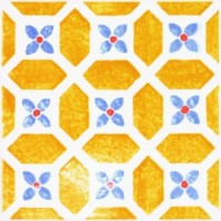 Керамическая плитка  метлахская Tubadzin TES17201