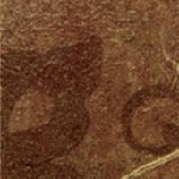 610090000332  Сицилия Коричневый Тоццетто Листья 7.2x7.2