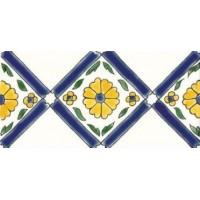 DOM1020F31 Frise Pergola Bleu 10x20