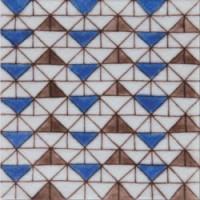 Керамическая плитка  белая 10x10  Diffusion Ceramique DOA1010C05