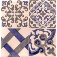Керамическая плитка  метлахская Diffusion Ceramique TRC1515D17B