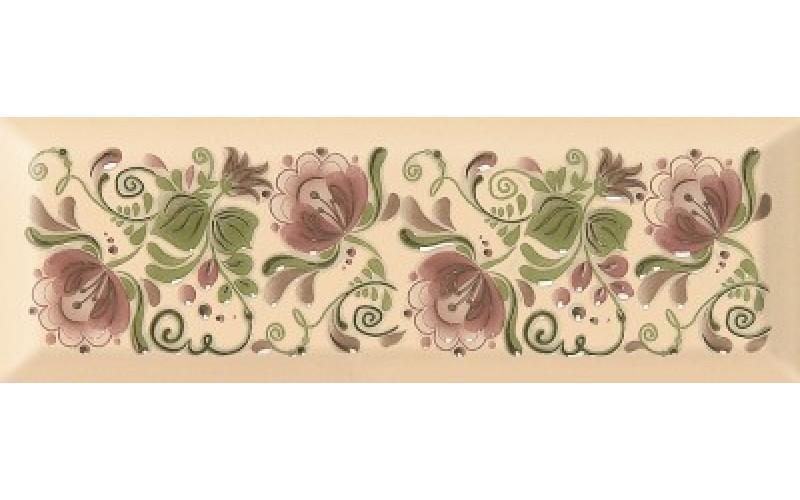 Керамическая плитка Metro Gzhel decor 05 10*30 10x30 Gracia Ceramica 010301001854
