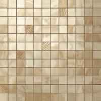 600110000199  Supernova Onyx Royal Gold Mosaic 30,5x30,5 30.5x30.5