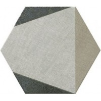 78796917 Hextangram Fabric Taupe 33x28.5 28.5x33
