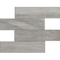 738023 Selection Gray Oak Modulo Listello 7.5x30 30x30