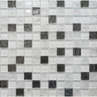 DW7MGW00 Mosaic Glass White 30x30