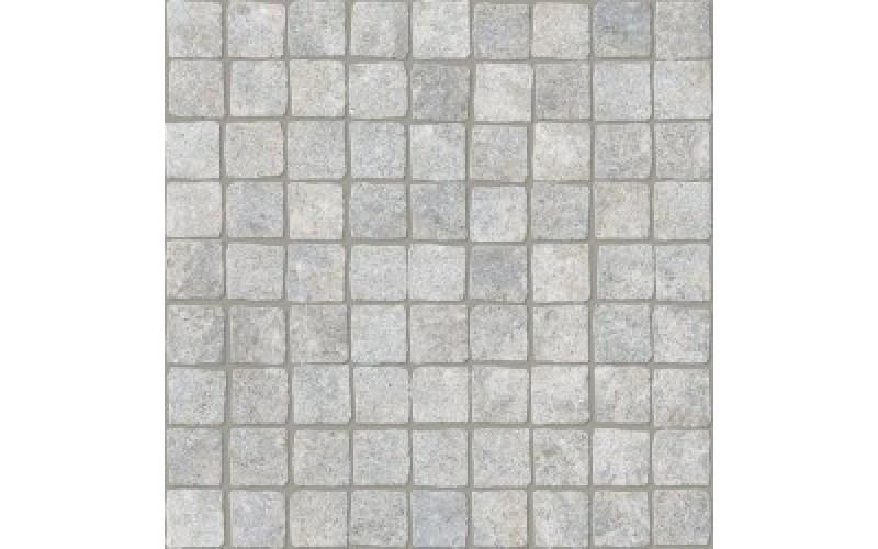 плитка белая мозаика