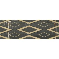 147-003-5 Galleria Single Black Gold 30x90