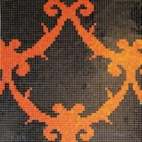 MZ-08  Black&Orange 15x15 88.5x88.5