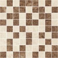 TES77523 Libra коричневый+бежевый 30x30