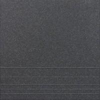 U111M  черный соль-перец рельеф, матовая 30x30