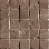 G30160  Foussana Mud Mosaico 3D Lapp Rett (tozz. 6x6) 30x30