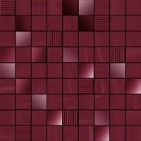 TES78269 MOSAICO PERLAGE AMARANTO 31,6x31,6 31.6x31.6
