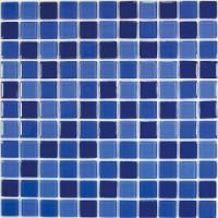TES80118 Blue wave-1 (стекло) 30x30