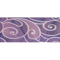Arabeski purple decor 01 25x60