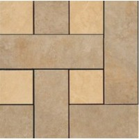 36403  MOSAICI CHESTERFIELD NOCE/ORO 30x30