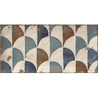 Керамическая плитка для кухни голубая PT02553 Mainzu