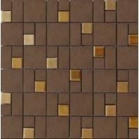 EMOI3030C03 GRES CERAME Chocolat Or 30x30