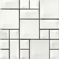 K5400548  Day-To-Day White Mix Glossy 30x30