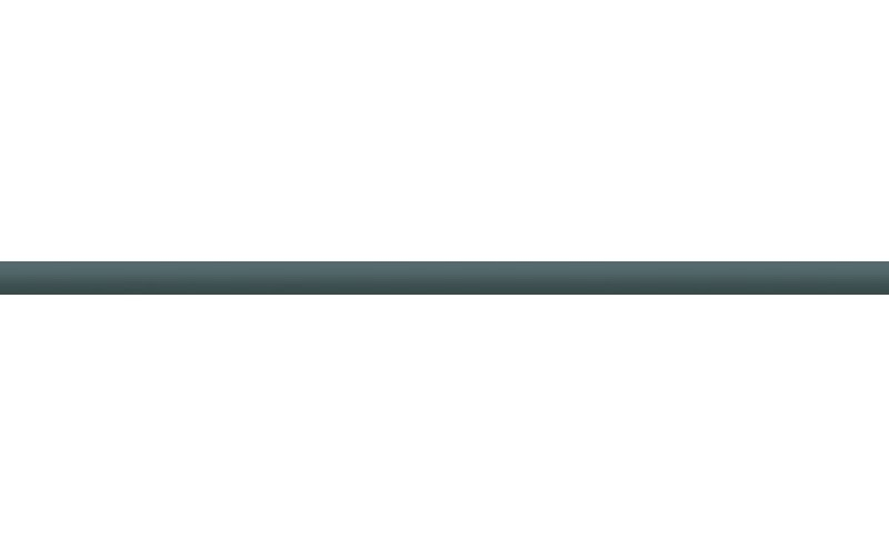 Керамическая плитка стеклянный чёрный  2x50 Ceradim TES7894