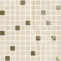 ALBERONA Mosaico Marfil-Gold