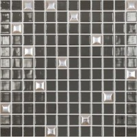 Edna Mix №836 Темно-коричневый (на сетке) 31,7x31,7