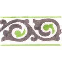 Керамическая плитка  метлахская Diffusion Ceramique TRC7515F08