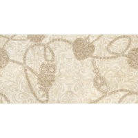 CREMA ALLURE-2 Decor Marfil 25x50