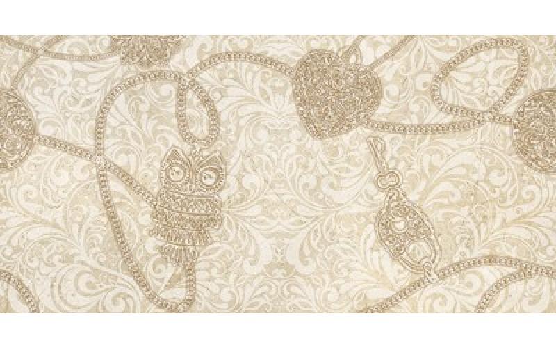 Керамическая плитка CREMA ALLURE-2 Decor Marfil 25x50 25х50 Rodnoe TES782