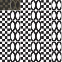 7VFSNMD Deco Dantan Comp.Mosaico 36pz Sable-Noir 30x30