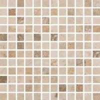 SX1A Small Square 30.5x30.5x1  Mosaic Yellow/White/Noce