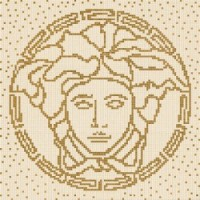 37210 COMPOSIZIONE MEDUSA BEIGE/GOLD 118x8,4