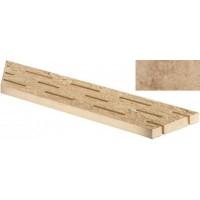AE0X Sunrock Bourgogne Sand Griglia Sx 15x60 LASTRA 20mm