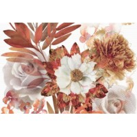 Composicion Savage Flowers 01 Marron 30x45 (комплект 2шт)