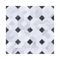 Керамическая мозаика STATUARIO Mosaico Abadía Perla (Gayafores)