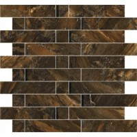 57962  Mosaico Multilevel Charcoal 30x30
