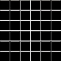 Altea Nero Mozaika (4.8x4.8) 29.8*29.8