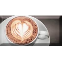 Monocolor Decor Coffee Capuccino Negro A 10х20