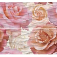 WA2F452DT Wave Roses 40x44