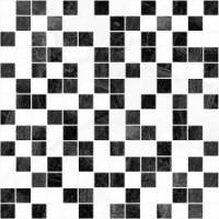 Мозаика  черно-белая Laparet PHP-132