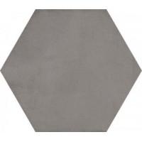 Laverton Hexagono Bampton Grafito 23x26.6
