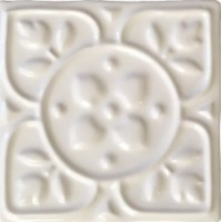 MEL1313DC01  Decor Covent Garden Blanc 13x13