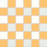 WDM06156  white - orange 30x30