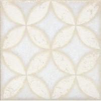 STG/B401/1266 Амальфи орнамент белый 9.9*9.9