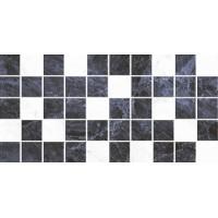 Керамическая плитка  для ванной черно-белая BELLEZA 09-00-5-10-31-04-616