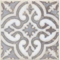 STG/A408/1266 Амальфи орнамент коричневый 9.9*9.9